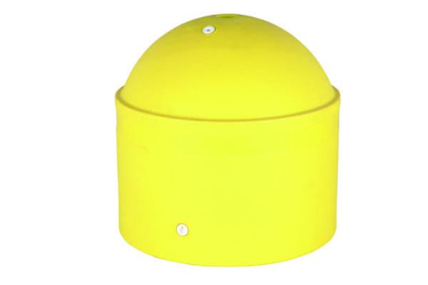 borne-de-parking-jaune