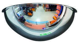 Miroir coupole 180° Ø100