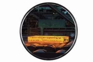Miroir inox Ø60