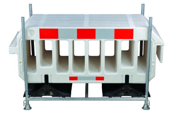 Kit support entrepôt et transport avec barrières